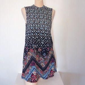 ONEIL FLORAL PAISLEY SHIFT DRESS